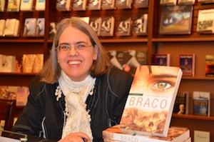 Lesleyanne Ryan at a recent Chapters book signing.